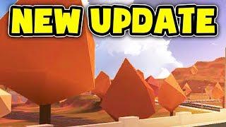 NEW FALL UPDATE IN JAILBREAK! (Roblox)