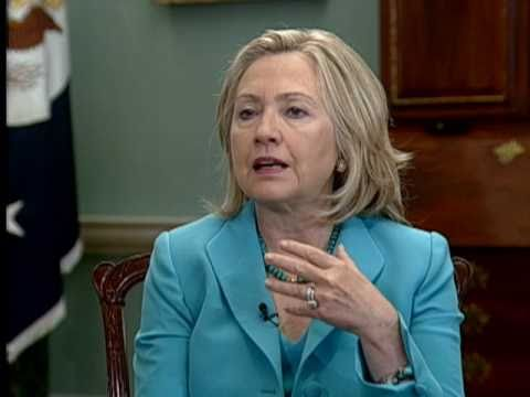 Secretary Clinton Participates in a Joint Interview With a Palestinian and an Israeli Reporter