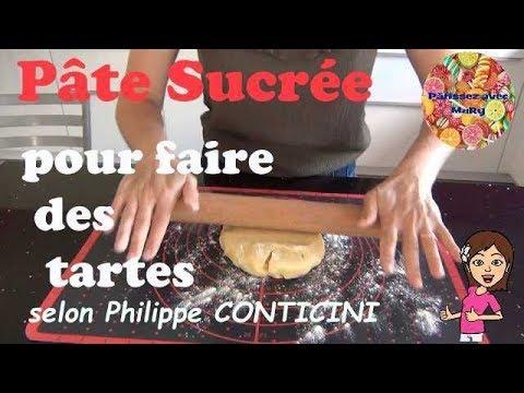 ♡-pate-sucree-pour-faire-des-tartes-selon-philippe-conticini-♡-pâtissez-avec-mary-♡