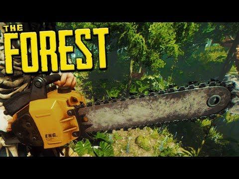 THE FOREST - Fomos atrás da MOTOSERRA mas algo deu errado | Ep.19 (Co-op Survival Horror)