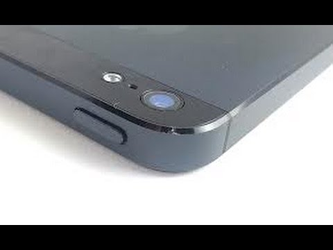 iPhone 5 Glitch Right Side of Power Button