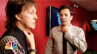 Repeat youtube video Jimmy Fallon and Paul McCartney Switch Accents (Late Night with Jimmy Fallon)