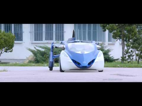 AeroMobil 3.0 Flying Car Flight Testing [1080p]