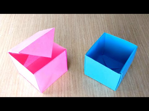 How to make a Paper Gift Box – DIY Gift Boxes