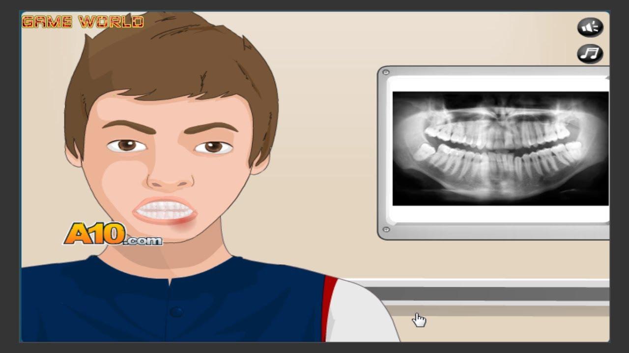 Bác sĩ nha khoa nhổ răng cho bé – Game world