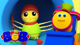 Incy Wincy Spider | Nursery Rhymes Train | Bob The Train | Spider Song | Kids TV