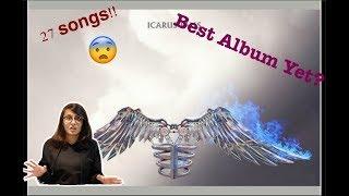Reacting to entire album ICARUS FALLS by Zayn Malik!!