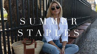 My 10 Must-Have Summer Wardrobe Staples