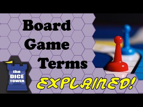 Board Game Terms: Explained