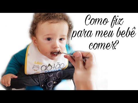 Introdução Alimentar. PRIMEIRA PAPINHA.