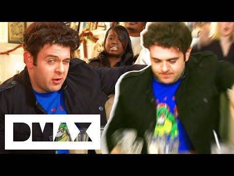 Adam Is Beaten By 15 Malt Milkshakes! | Man V. Food