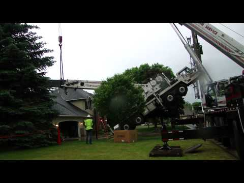 Removal of Crane That Crashed House in Shoreview MN