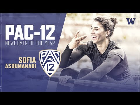 Rowing: Sofia Asoumanaki collects Pac-12 Women's Rowing Newcomer of the Year honors