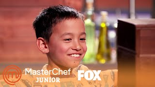 Alarms Go Off In The Kitchen | Season 7 Ep. 1 | MASTERCHEF JUNIOR