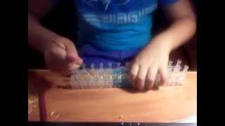 плетение из резинок урок 1 змейка