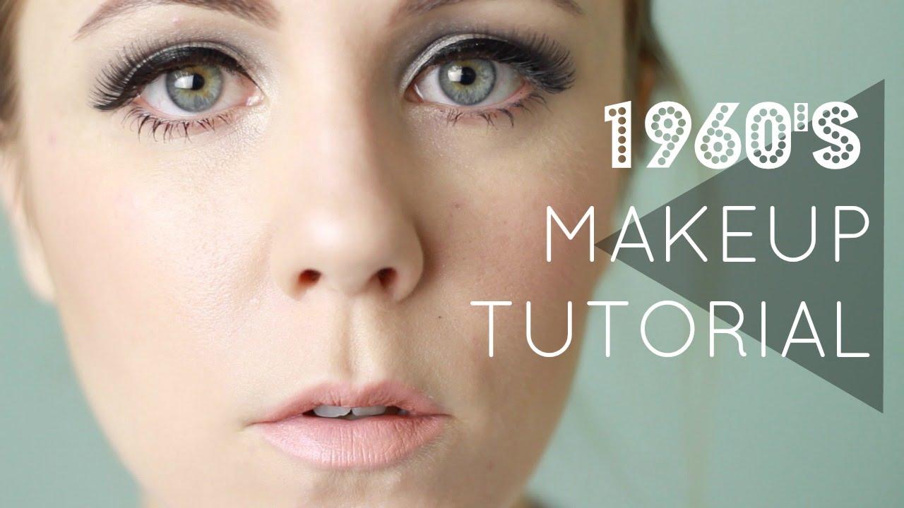 1960s makeup tutorial dizzymisslizzy youtube