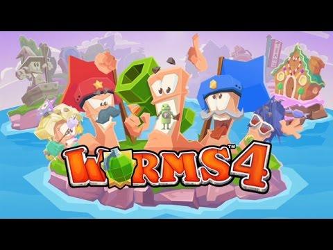 Скачать Игру Worms 4 На Андроид - фото 9