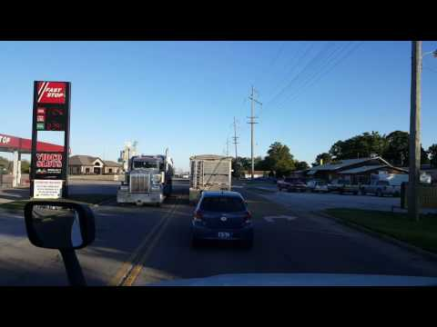 BigRigTravels - Illinois Route 97 from Beardstown to Springfield October 8, 2016