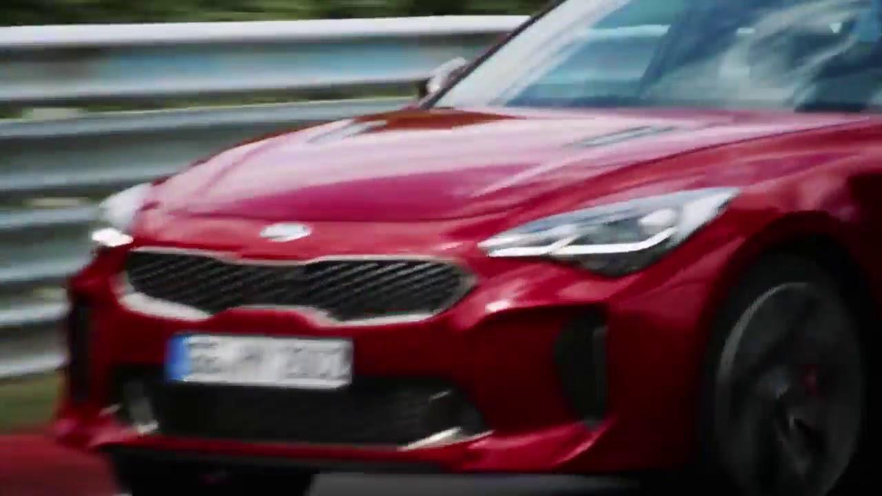 Circuito Kia 2018 : New kia stinger nurburgring race track youtube