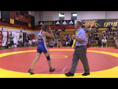 2014 Canada Cup: 55 kg Krystal Adair (CAN) vs. Jessica Brouillette (CAN)