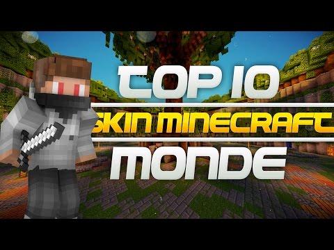 TOP 10 - Skin minecraft les plus utilisés du Monde !