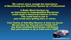 Electrical Fires - Dangers in Hiring an unqualified Electrician.mp4