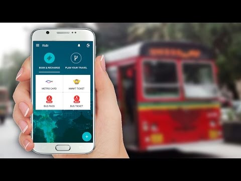 Ridlr App - BEST Bus (Public Transport) Online App | How to use BEST Bus (Ridlr) App