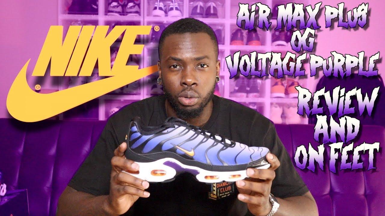 Nike Air Max Plus OG Black, Orange & Purple | END.