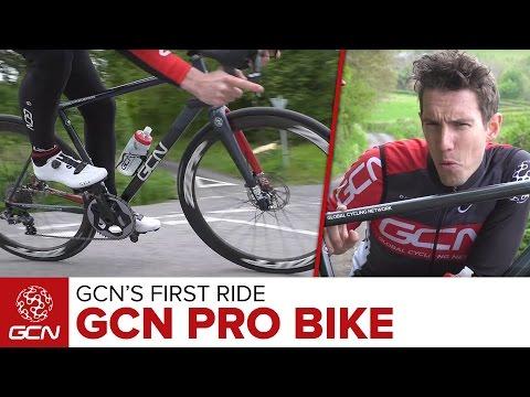 GCN's Handbuilt Bike - GCN's First Ride