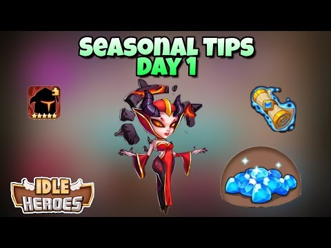 Idle Heroes - Seasonal Tips for Day 1