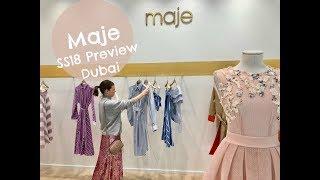 Maje SS18 Preview, Citywalk, Dubai