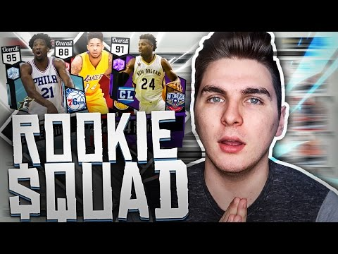 THE BEST ALL ROOKIE TEAM ON NBA 2K17!