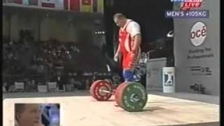 2002 Super-heavy 263Kg World Record. 2of2