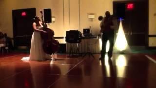Bass wars (Bass playing bride)