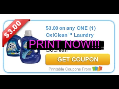 photo regarding Oxiclean Printable Coupon identified as PRINT At the moment!! Clean $3/1 OxiClean Laundry Solution Coupon!