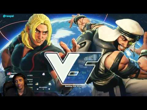 SFV Beta KEN Learning! That ending tho..