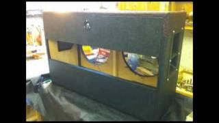 "Custom 2x12 Speaker Cabinet - ""deep Vintage"""