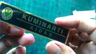 how to make a name tag