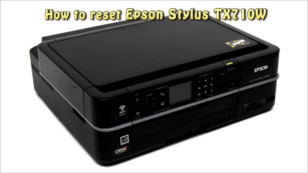 EPSON TX710W DRIVER UPDATE