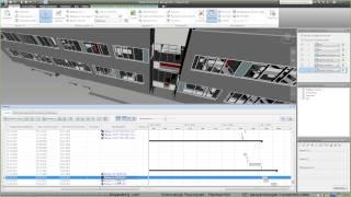 AVysotskiy.com - Видеоуроки Navisworks - 6 - 4D, визуализация