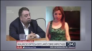Mauricio Ortega en juicio oral: