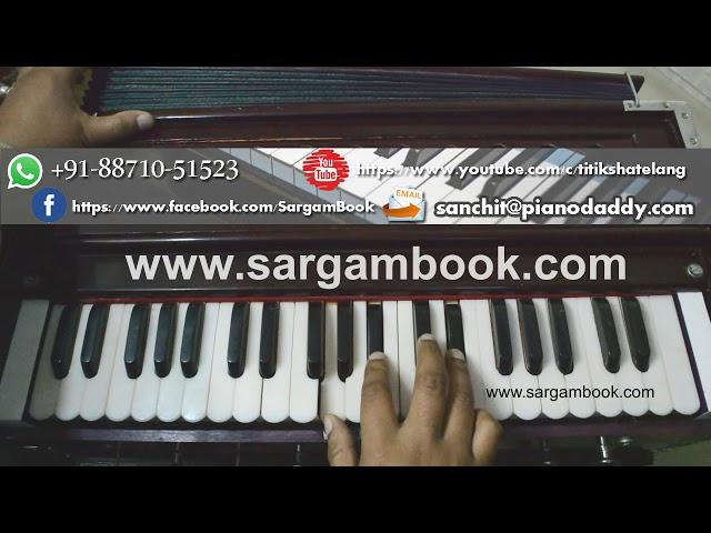 Paniyon Sa (Satyamev Jayate) Harmonium Tutorial ~ Sargam Book