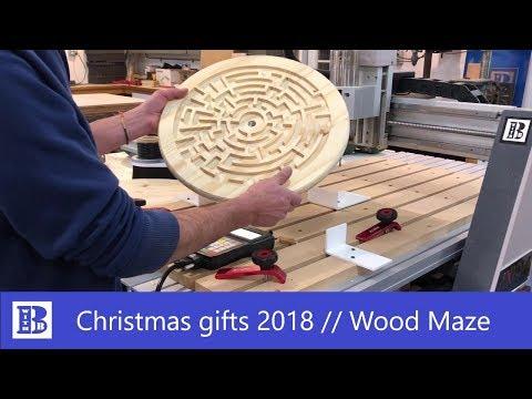 Wood maze // Christmas gifts 2018