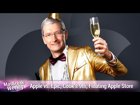 Shake 'n Bake and Rice-a-Roni - Apple vs. Epic, Cook's 9th Anniversary, Floating Apple Store Sphere