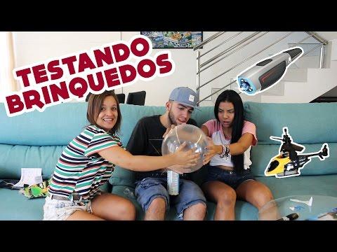 TESTAMOS 5 BRINQUEDOS DOS EUA!!
