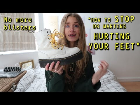 How to style Dr Martens and *STOP THEM HURTING YOUR FEET* Vlog