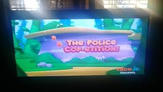 The Police Cop-etition! Title Card