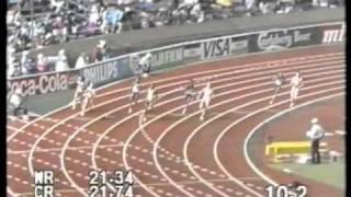 Tokio -91: naisten 200m