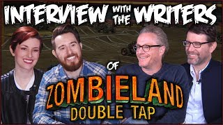 Interview with ZOMBIELAND: DOUBLE TAP writers at Monster Jam