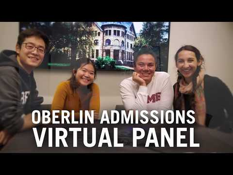 Oberlin College Admissions - Virtual Panel